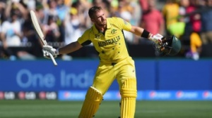 Aaron Finch batting his way to a terrific total of 135. Photo Credit: espncricinfo.com