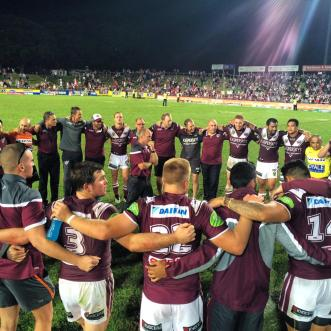 #StrongerTogether  Photo Credit: Manly Warringah Sea Eagles
