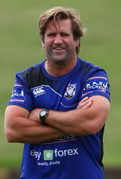 Bulldogs Coach, Des Hasler Photo Credit: Renee McKay: Getty Images AsiaPac