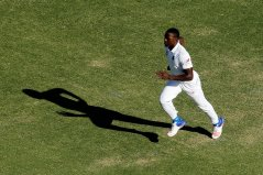 Rabada storming in to bowl. Photo Credit: cricket.com.au