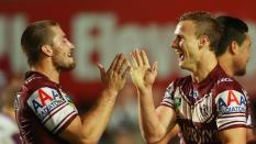 Foz & DCE during a game (Photo Cred: Daily Telegraph)